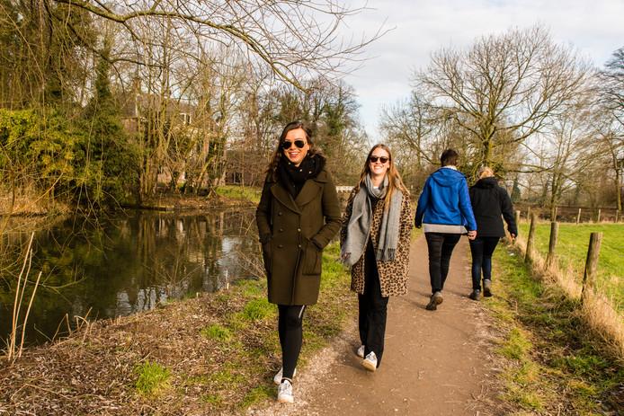 Wandelen langs de Kromme Rijn.