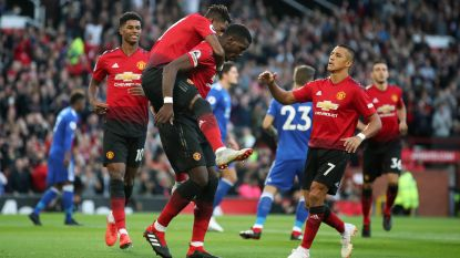 Man. United, met Lukaku en Fellaini als invallers, begint foutloos aan nieuwe Premier League-seizoen
