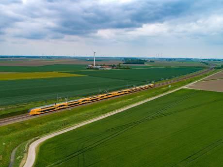 Snellere spoorlijn? Prima, als de trein maar stopt in Flevoland