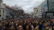 Opnieuw protesten tegen regering in Slovakije na moord op journalist