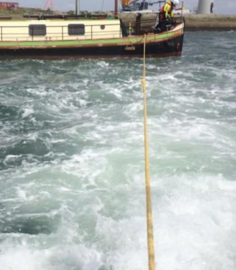 KNRM schiet te hulp bij boot die zou vastlopen
