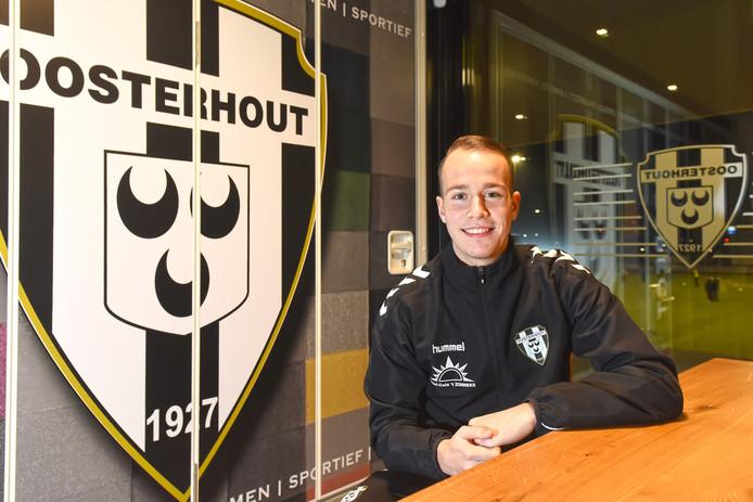 Emiel van Pelt speelt zondag met Oosterhout tegen TSC, de ploeg waar hij alle jeugdelftallen doorliep.