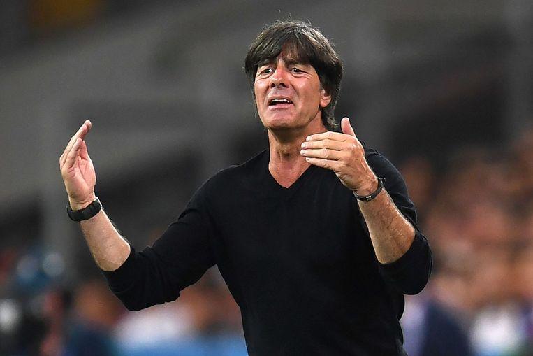 Joachim Löw, bondscoach van Duitsland. Beeld afp