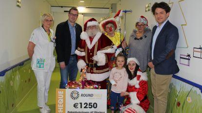 Ziekenhuisclowns krijgen van de Ronde Tafel 23 extra budget om patiëntjes zorgen te laten vergeten