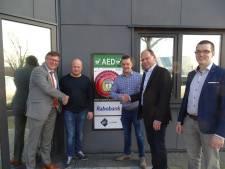 Eerste AED 24/7 beschikbaar op bedrijventerrein Vosdonk