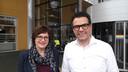 Trix Cloosterman en Pieter Snelleman van Beursvloer Meierijstad.