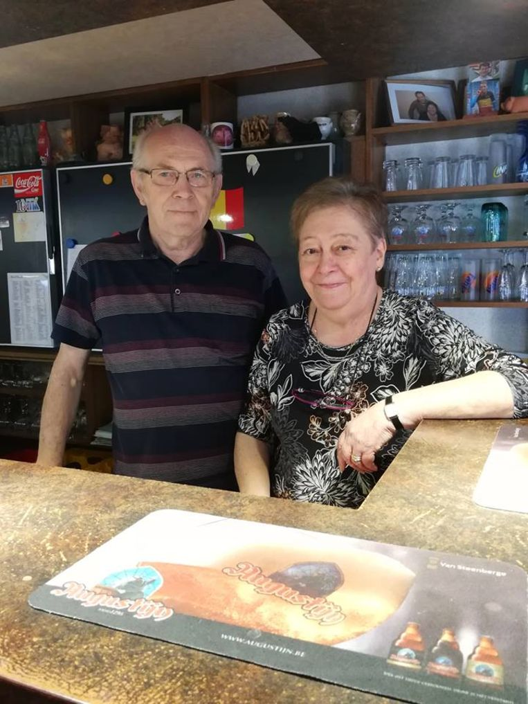 Uitbaters Armand en Rita van De Pluim.