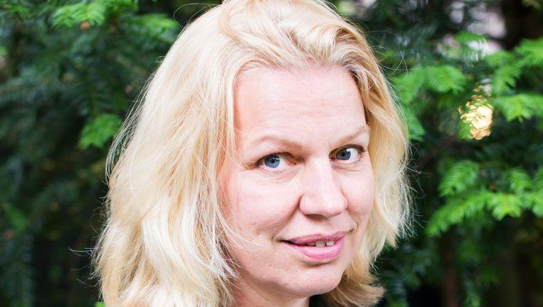 Annejet van der Zijl heeft de Amsterdamprijs voor de Kunst gewonnen Beeld Eva Plevier