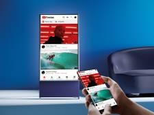 La télé qu'on peut mettre à la verticale pour regarder les contenus Tik Tok et Instagram de façon optimale