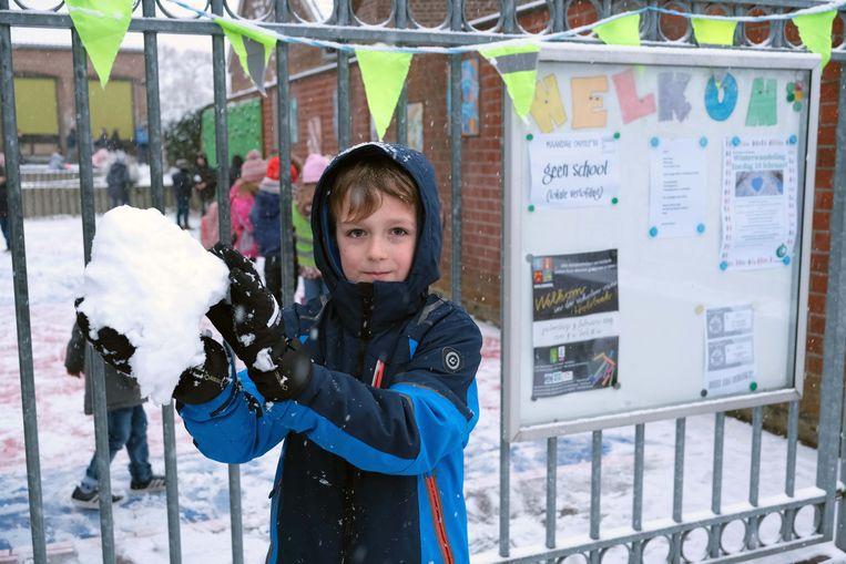 Er staat nog veel sneeuwpret op het programma vandaag.