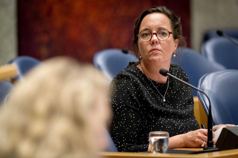 Staatssecretaris Van Ark van Sociale Zaken en Werkgelegenheid.  Beeld ANP - Koen van Weel