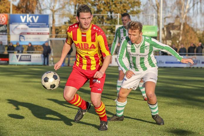 Joost Berkers scoorde vandaag een keer tegen Sterksel