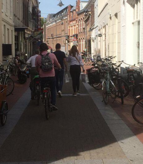 Fietsverbod in weekend in Den Bosch: 'Het moet veilig zijn voor voetgangers'