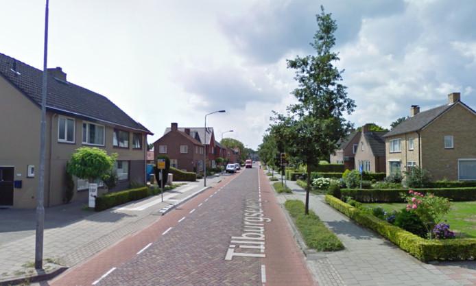 De Tilburgseweg in Riel.