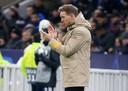 Julian Nagelsmann (32), de succestrainer van RB Leipzig die als jongste coach ooit de CL-groepsfase overleefde.