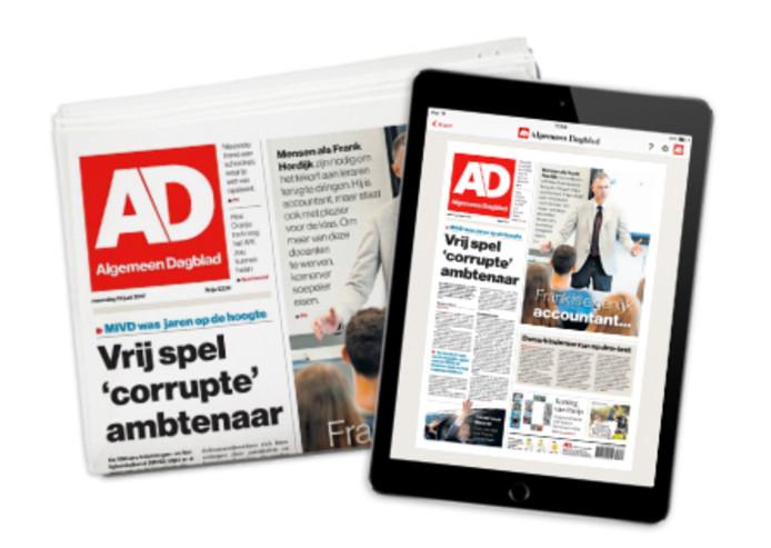 U kunt vandaag de krant gratis digitaal downloaden.