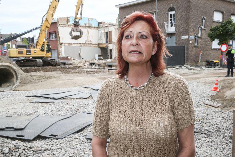 """Buurvrouw Pascale Daelman: """"Wij kenden Louisa heel, heel goed. We wonen hier al dertien jaar."""""""