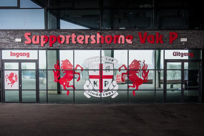 ENSCHEDE - Supportershome VAK P in FC Twente stadion de Grolsch Veste.