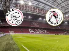 Ajax jaagt in eigen huis op driepunter tegen Sparta