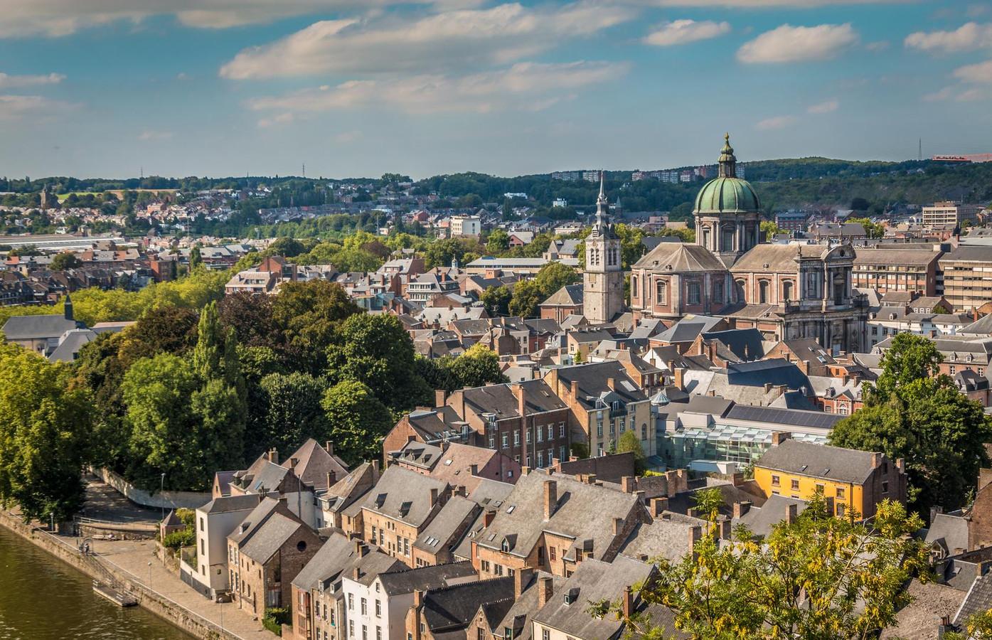 Namur city in Belgium