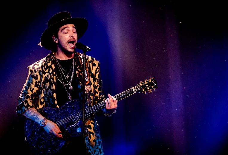 Waylon staat vanavond in de halve finale van het Eurovisie Songfestival. Beeld ANP