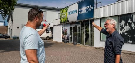 Híer moet het Deventer pop-up-podium komen tijdens corona, in een hal op het industrieterrein