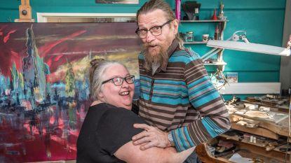 Art Studio Brikat bij select groepje dat elke keer meedoet aan Buren Bij Kunstenaars