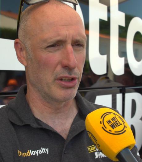 Verhoeven trotse ploegleider: 'Van Aert is een grote meneer'
