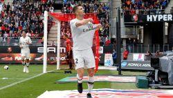 Meunier opnieuw aan het kanon voor PSG dat scheve situatie in Rennes rechtzet (1-3)