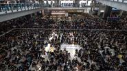 Luchthaven Hongkong weer operationeel