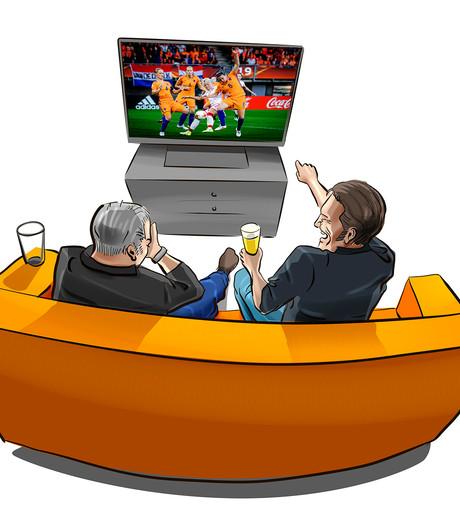 Mannen in tweestrijd over voetbalkunsten Leeuwinnen