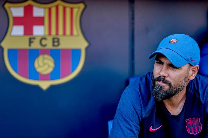 Victor Valdés begin deze maand als coach van FC Barcelona onder 19.