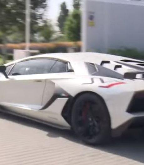 Hazard a attiré tous les regards à Madrid avec une Lamborghini qui vaut un demi-million d'euros