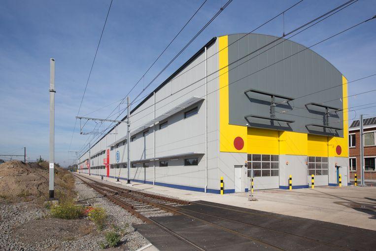 Opening van de nieuwe werkplaats van de NMBS in Hasselt