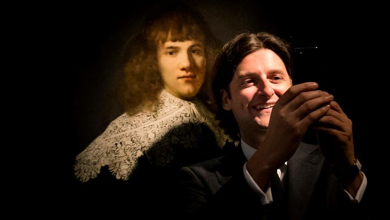 Ontdekker Jan Six voor het werk van Rembrandt Beeld anp