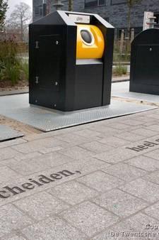 Aanbod restafval in Enschede sinds diftar bijna gehalveerd