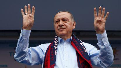 Turkse president Erdogan stelt mogelijk einde van noodtoestand in vooruitzicht