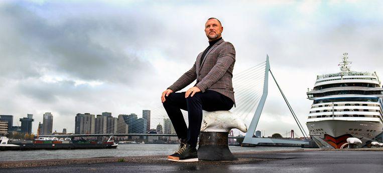 John de Wolf, assistent-trainer van Feyenoord. Beeld Klaas Jan van der Weij