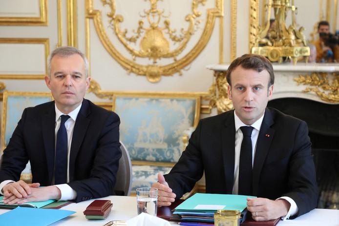 Emmanuel Macron et Francois de Rugy