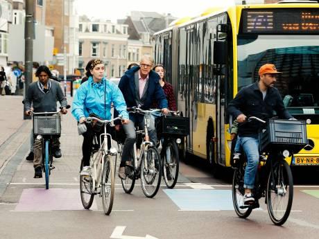 Utrecht is de beste fietsstad ter wereld, maar niet iedereen is het daarmee eens: 'Fietsers mogen hier alles'