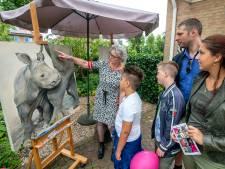 Bezoekers kunstroute laten zich inspireren én trekken de portemonnee