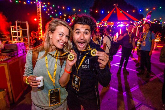 Goede Tijden Slechte Tijden-actrice Melissa Drost is een van de ambassadeurs van de Nacht van de Vluchteling. Foto ANP
