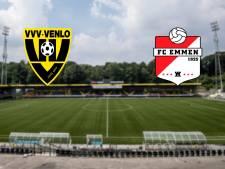 Degradatiespook aandachtig toeschouwer bij VVV - FC Emmen