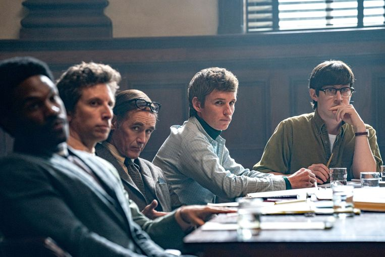 The Trial of the Chicago 7. Beeld Netflix