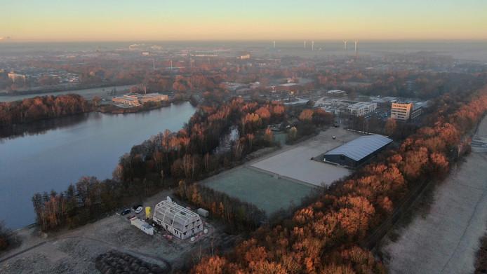 Over ongeveer twee maanden is het nieuwe hoofdkwartier van de scouts in Waalwijk klaar.