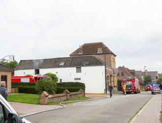 Grote schade na brand bij traiteur in Borchtlombeek