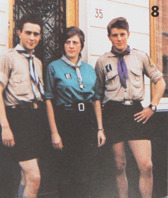 Mieke was vroeger ook lid van de scouts.