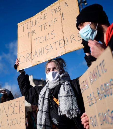 """""""Touche pas à ma teuf!"""": manifestation à Rennes pour défendre les """"free parties"""""""