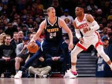 Zegereeks Houston Rockets eindigt in Denver