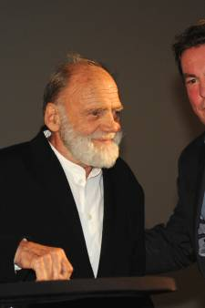 Acteur Bruno Ganz (1941-2019) kreeg in 2017 prijs Film by the Sea